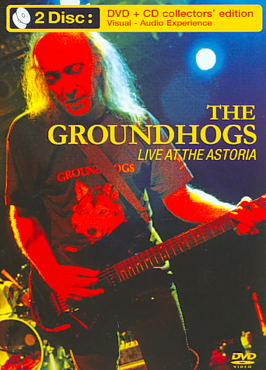 LIVE AT THE ASTORIA BY GROUNDHOGS (DVD)